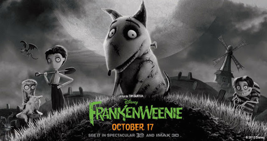 Movie Rewind: FRANKENWEENIE (2012) – PAUL'S TRIP TO THE MOVIES